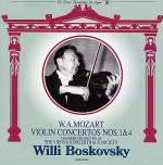 ウィーンフィルのコンサートマスター、ボスコフスキー