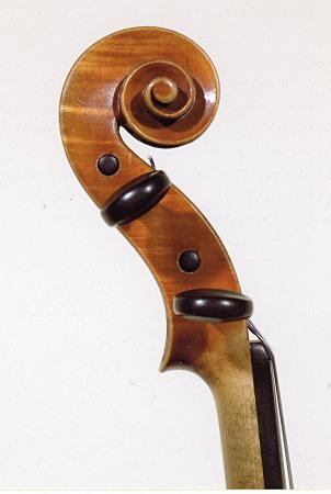 ヴァイオリンの渦巻き