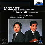モーツァルト、フランク ヴァイオリンソナタ 堀 正文 CD