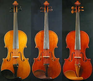 ヴァイオリンの部品の違い