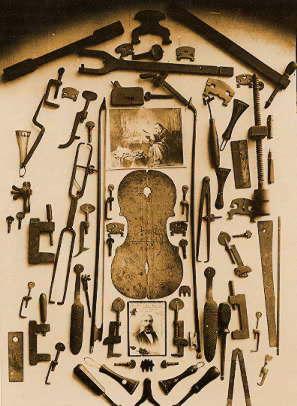 ヴァイオリン製作道具