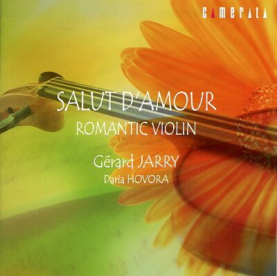 ジェラール ジャリ・ヴァイオリン小品集 CD