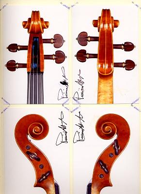 ヴァイオリン スクロール