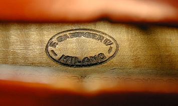 イタリアモダン ヴァイオリン製作家 Ferdinando Garimbertiの焼印