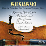 ヴィエニアフスキ ヴァイオリン作品集 CD